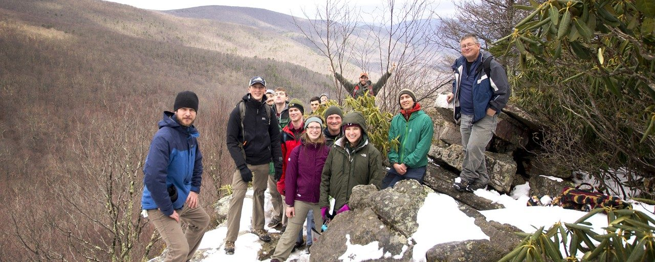 Winter dendrology workshop in March 2018; organized by FGSA and led by John Peterson.