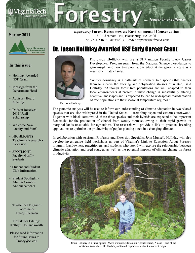 Fall 2009 FREC Newsletter