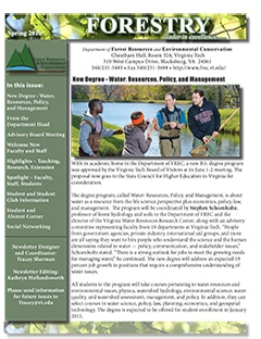 Spring 2012 FREC Newsletter